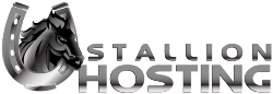 Stallion Hosting logo